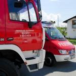 Tanklöschfahrzeug Front mit KLF