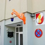 Feuerwehrhaus Eingangsbereich